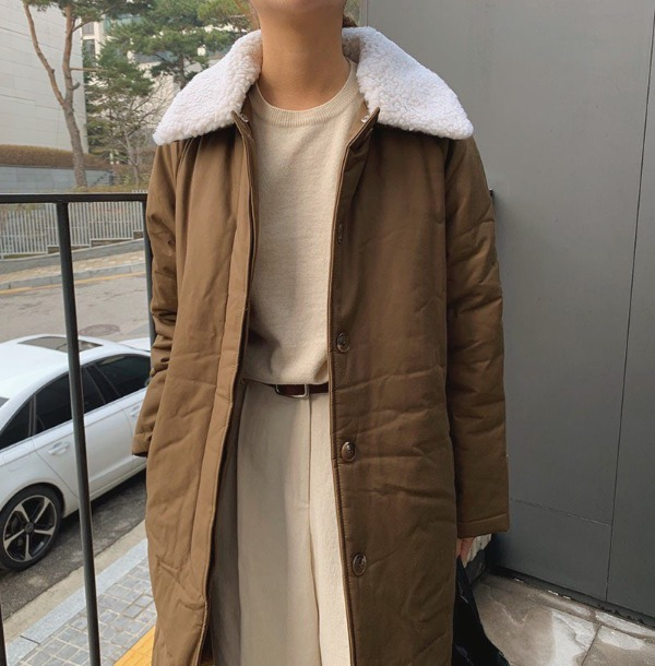 thom padding coat (3colors)