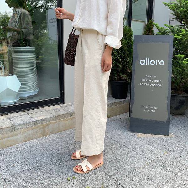 [MOODMADE♥] bruno pants (cream-beige)