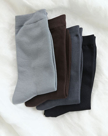autumn socks (4colors) BEST♥