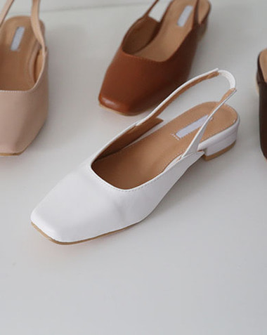 celle slingback shoes (6colors)