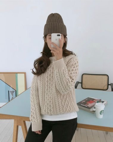 toast knit (3colors)