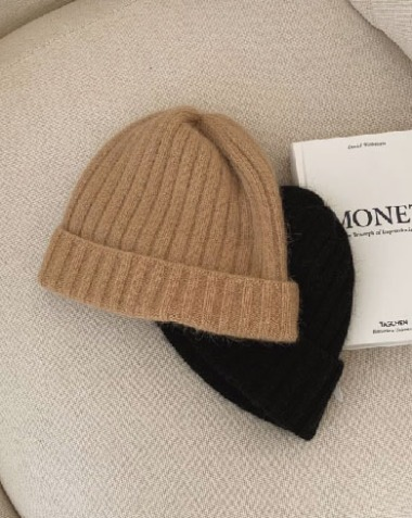row angora beanie (2colors)