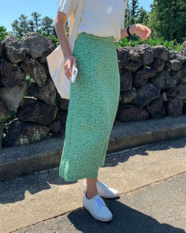 [MOODMADE♥] humming skirt (light-green) 2차 리오더분