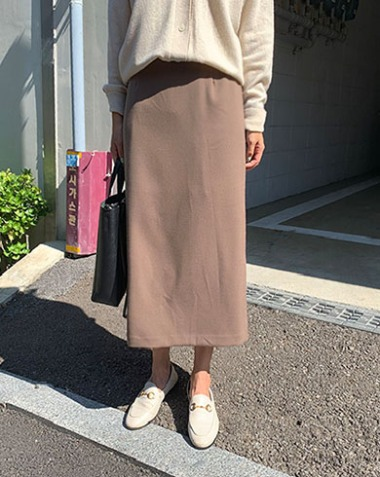 [MM.MADE♥] geneva skirt (cocoa)