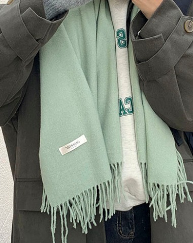soft cashmere muffler (2colors)