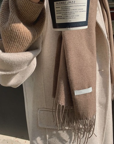 sweet cashmere muffler (3colors)