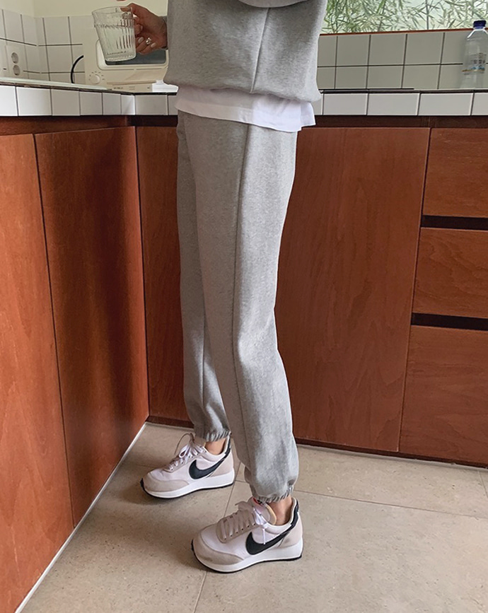 [mm.made♥] yecca jogger pants (soft-gray)